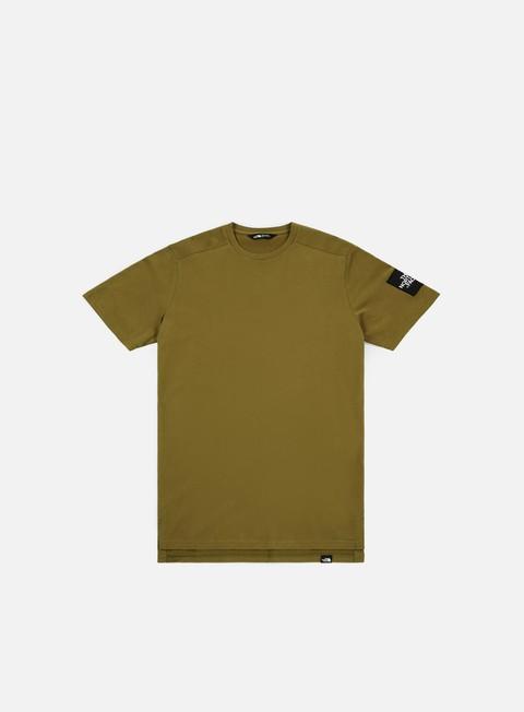 t shirt the north face fine 2 t shirt fir green