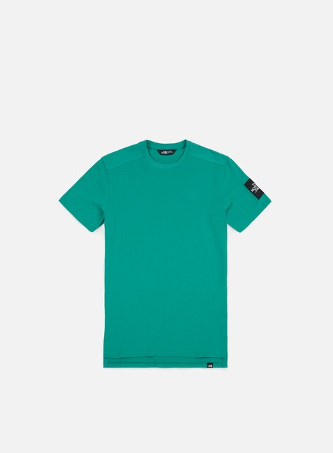 t shirt the north face fine 2 t shirt porcelain green
