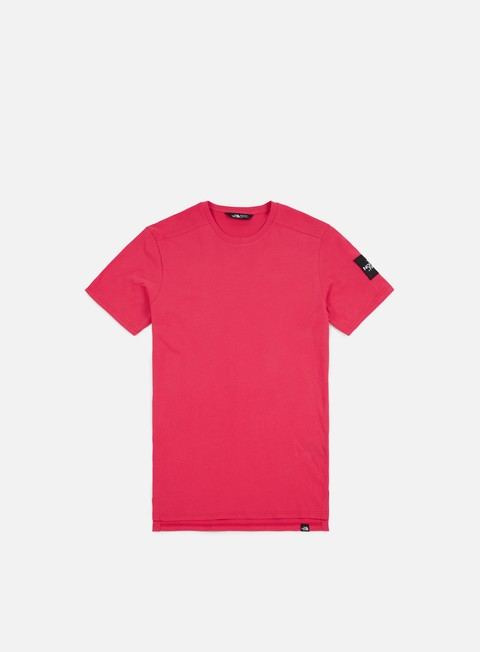 t shirt the north face fine 2 t shirt raspberry red