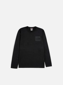 The North Face - Fine LS T-shirt, TNF Black