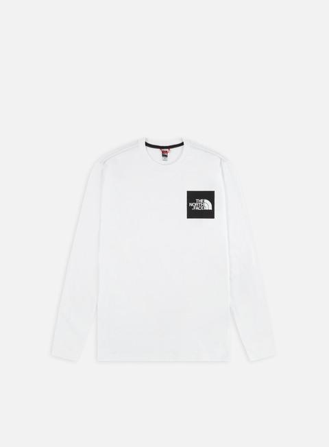 Outlet e Saldi T-shirt a manica lunga The North Face Fine LS T-shirt