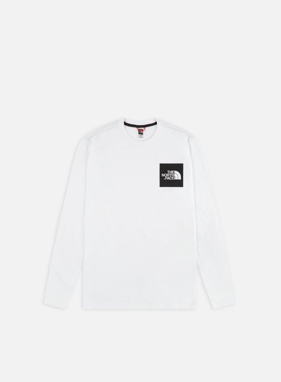The North Face - Fine LS T-shirt, TNF White