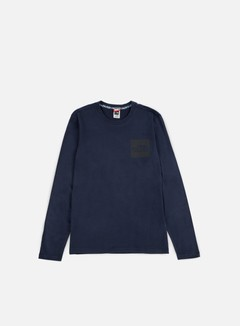 The North Face - Fine LS T-shirt, Urban Navy 1