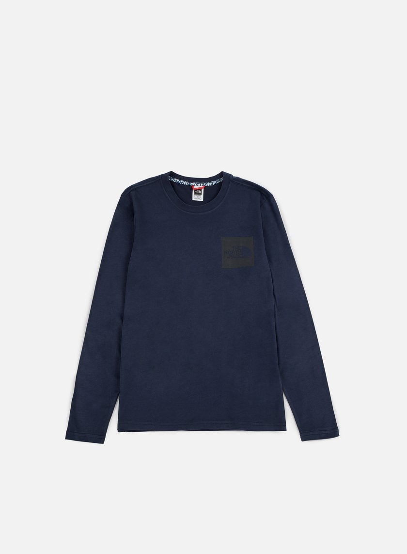 The North Face - Fine LS T-shirt, Urban Navy