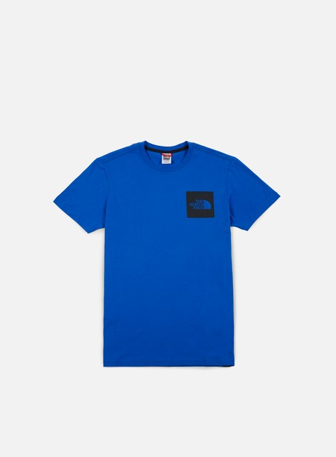 t shirt the north face fine t shirt bright cobalt blue