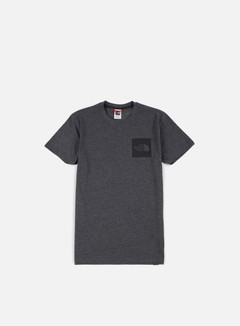 The North Face - Fine T-shirt, Dark Grey Heather