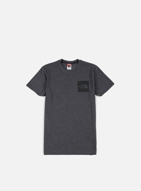 t shirt the north face fine t shirt dark grey heather