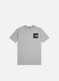 The North Face - Fine T-shirt, Heather Grey