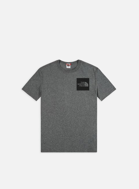 t shirt the north face fine t shirt medium grey heather
