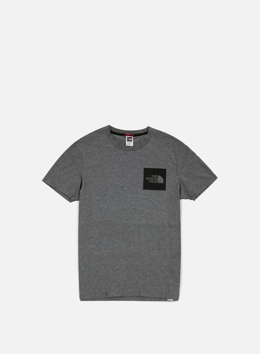 The North Face - Fine T-shirt, Melange Grey Heather