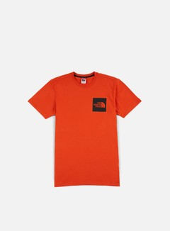 The North Face - Fine T-shirt, Tibetan Orange