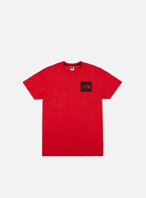 t shirt the north face fine t shirt tnf red