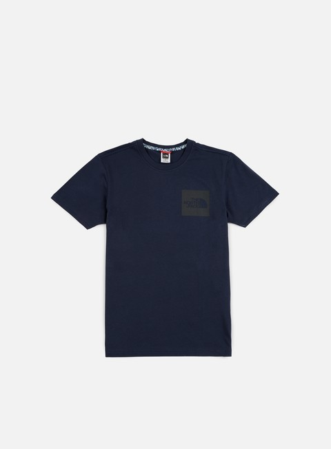t shirt the north face fine t shirt urban navy