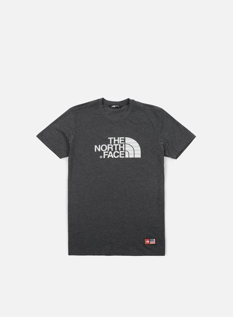 t shirt the north face international cotton t shirt tnf dark grey heather
