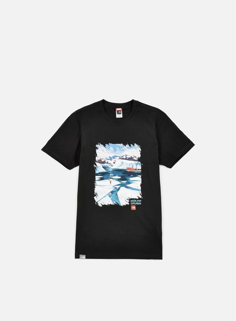 t shirt the north face nse series t shirt tnf black