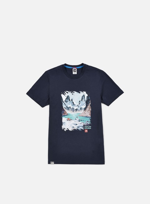 t shirt the north face nse series t shirt urban navy