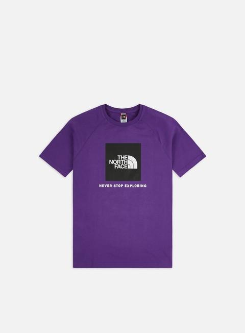 Outlet e Saldi T-shirt a Manica Corta The North Face Raglan Red Box T-shirt