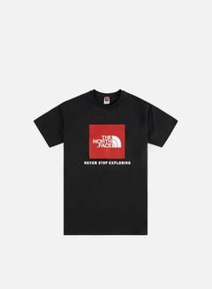 The North Face Raglan Red Box T-shirt dd97bca24f5a