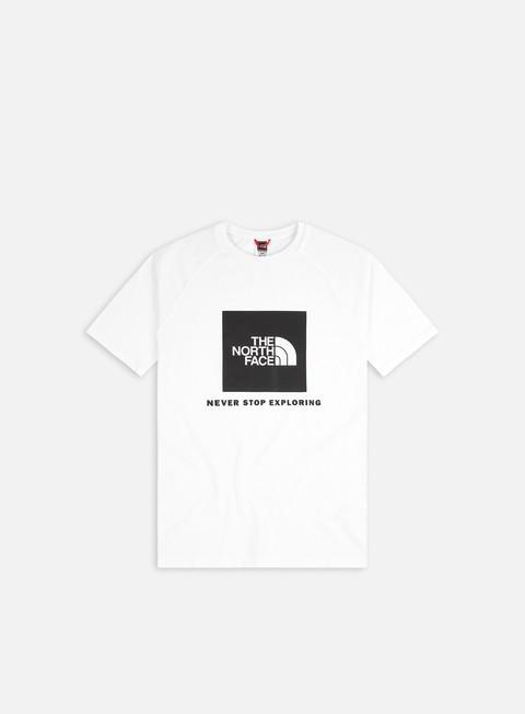 Short Sleeve T-shirts The North Face Raglan Red Box T-shirt