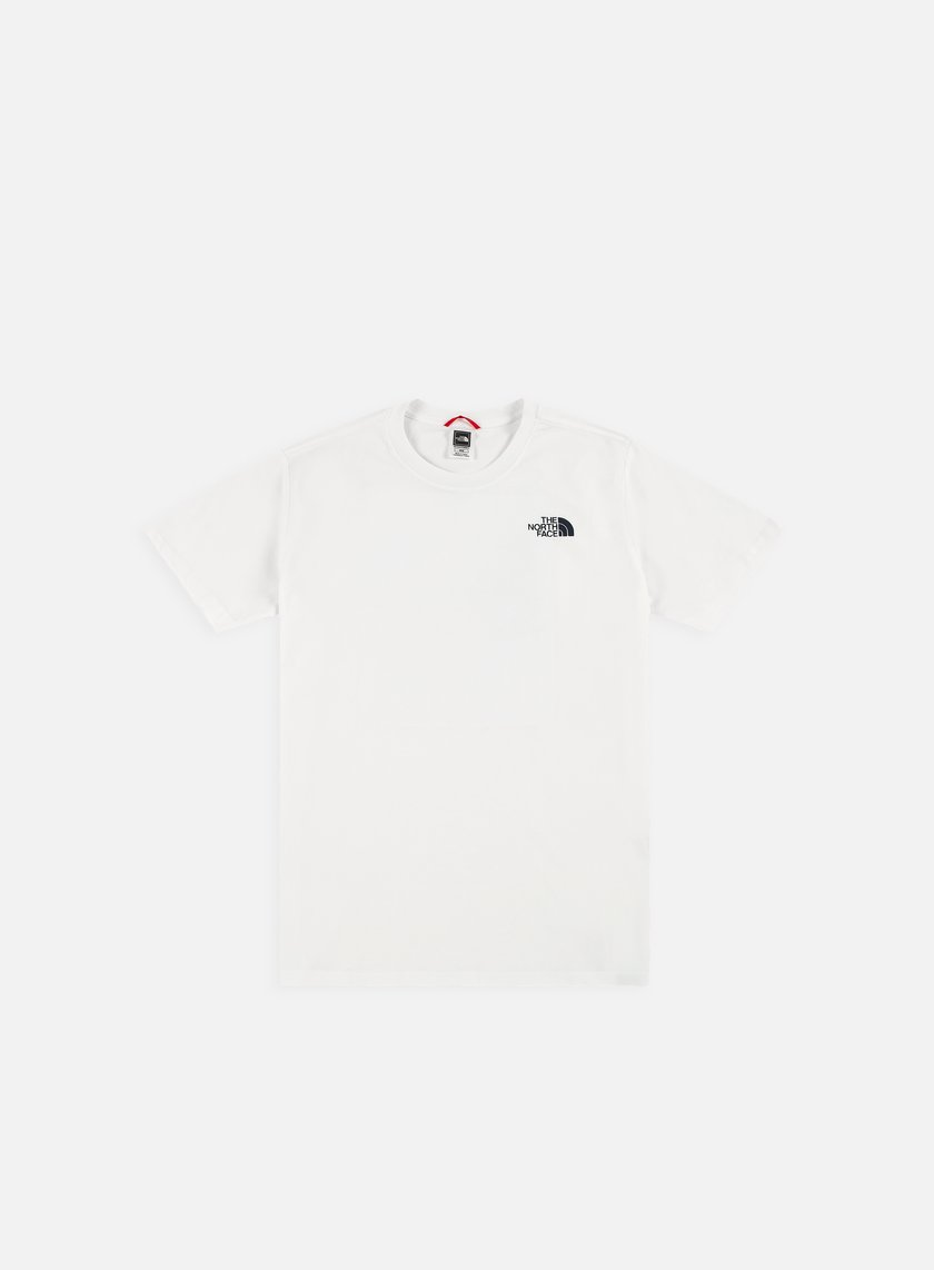 The North Face - Red Box Cel T-shirt, TNF White/Urban Navy