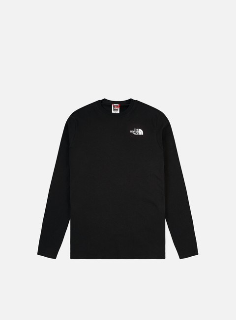 Long Sleeve T-shirts The North Face Red Box LS T-shirt