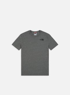 The North Face - Red Box T-shirt, Medium Grey Heather