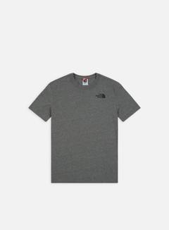 The North Face - Red Box T-shirt, Medium Grey Heather