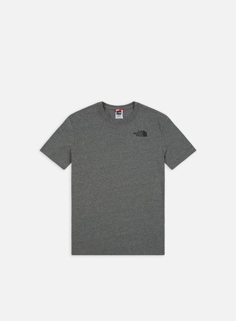t shirt the north face red box t shirt medium grey heather