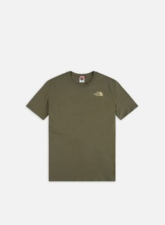 The North Face - Red Box T-shirt, New Taupe Green/Kelp Tan