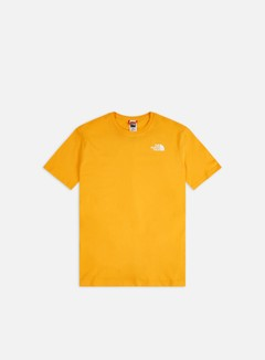 The North Face - Red Box T-shirt, Summit Gold/TNF Black
