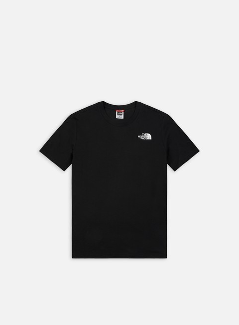 t shirt the north face red box t shirt tnf black