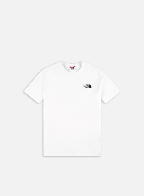 t shirt the north face red box t shirt tnf white