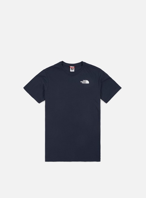 t shirt the north face red box t shirt urban navy white