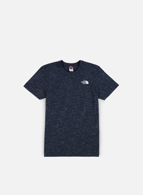 t shirt the north face simple dome t shirt urban navy tnf white