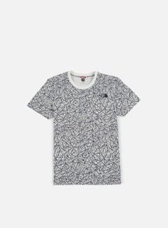 The North Face - Simple Dome T-Shirt, Vaporous Grey Rain Camo Print 1