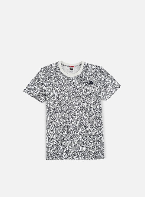 t shirt the north face simple dome t shirt vaporous grey rain camo print