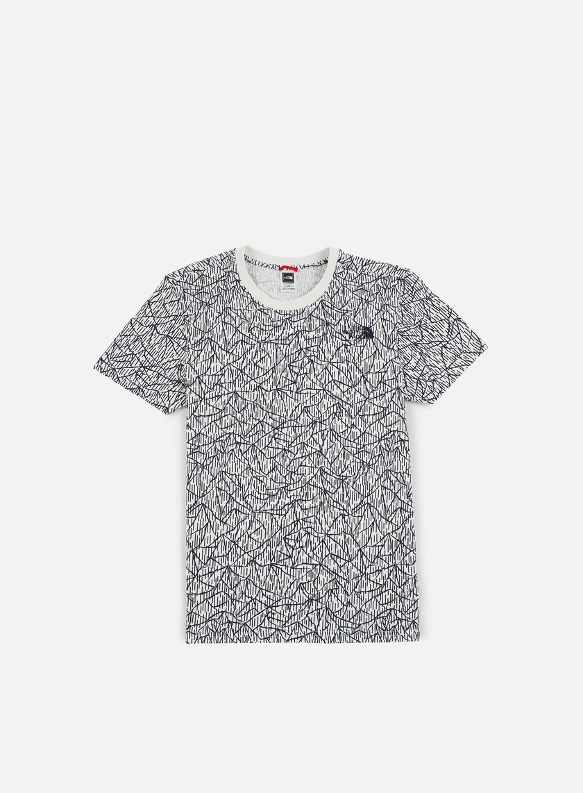 The North Face - Simple Dome T-Shirt, Vaporous Grey Rain Camo Print