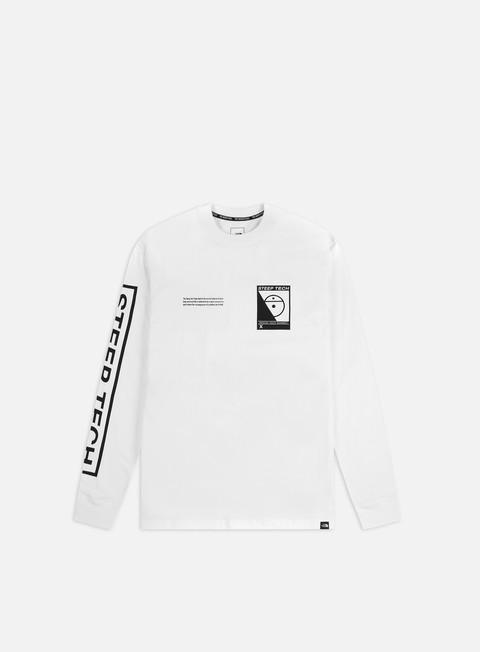 Outlet e Saldi T-shirt a Manica Lunga The North Face Steep Tech LS T-shirt