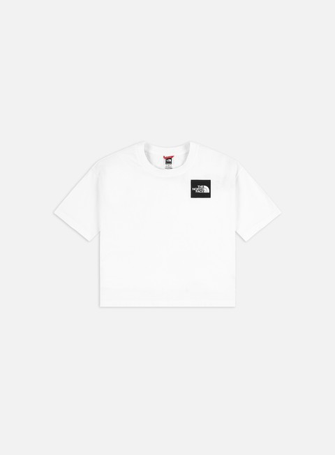 T-shirt a Manica Corta The North Face WMNS Fine Cropped T-shirt