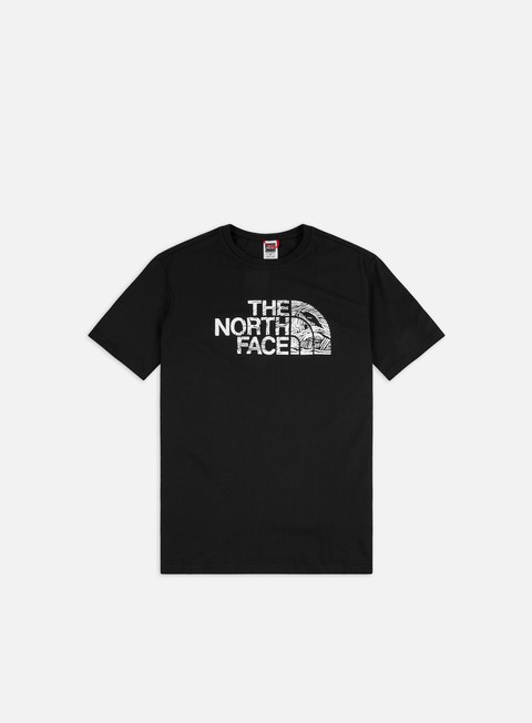 T-shirt a Manica Corta The North Face Woodcut Dome T-shirt
