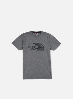 The North Face - Woodcut Dome T-shirt, TNF Medium Grey Heather 1