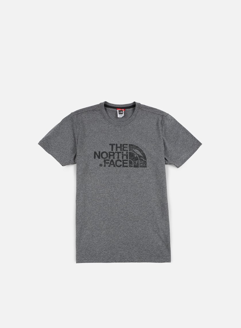 The North Face - Woodcut Dome T-shirt, TNF Medium Grey Heather