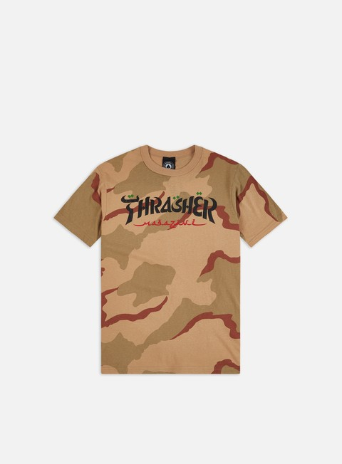 Short Sleeve T-shirts Thrasher Calligraphy T-shirt