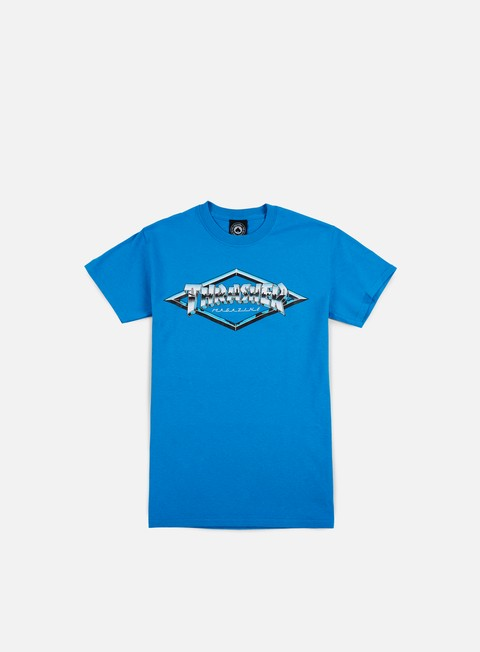 t shirt thrasher diamond emblem t shirt sapphire