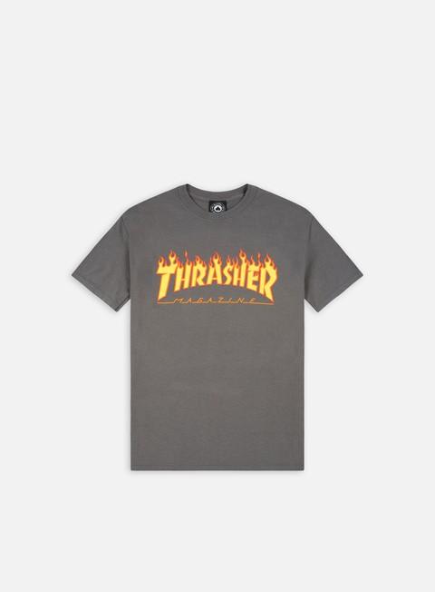 Short sleeve T-shirts Thrasher Flame Logo T-shirt