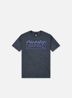 Thrasher - Flame Logo T-shirt, Dark Heather 1