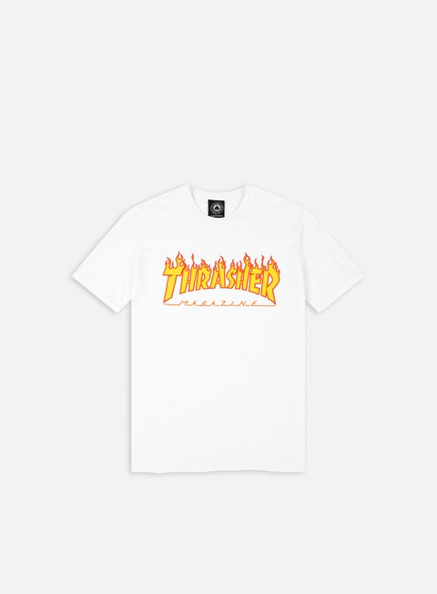 t shirt thrasher flame logo t shirt white
