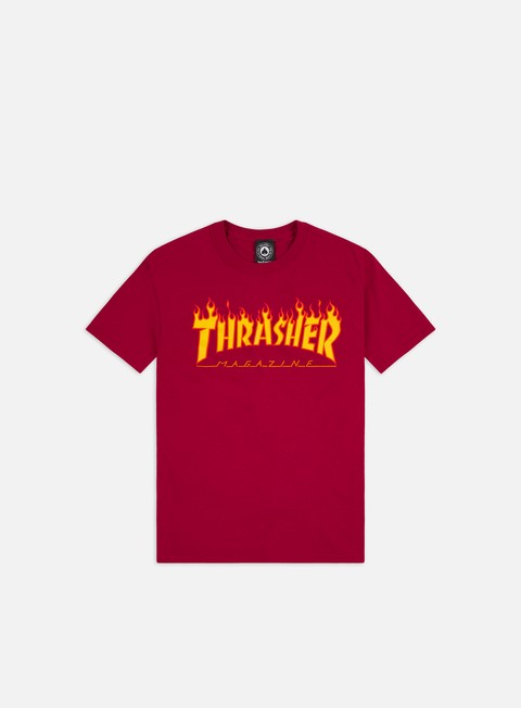 Short Sleeve T-shirts Thrasher Flame T-shirt
