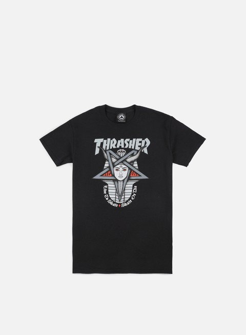 t shirt thrasher goddes t shirt black