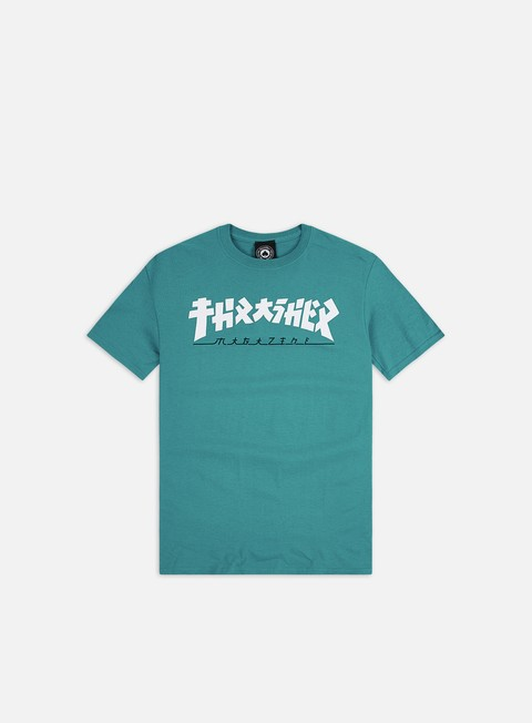 Short Sleeve T-shirts Thrasher Godzilla T-shirt